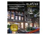Ruko commercial area (Stand Alone) EleVee Promenade dari Alam Sutera (Baru, jangan SAMPAI KEHABISAN)