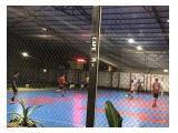 Lapangan futsal belakang gedung kost