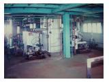 Dijual 1 Set Mesin Industri dan Gedung 7 Lantai di Sungai Selincah, Palembang -