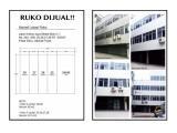 DIJUAL RUKO GANDENG 3LT (4 UNIT)  DAN 4LT (2 UNIT) KREKOT JAYA