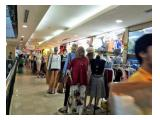 Dijual Kios ITC Cempaka Mas - Strategis Hall Utama