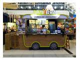 Booth tampak depan (Lokasi : AEON Mall, Food Carnival)