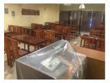 Tempat usaha cafe/resto disewakan
