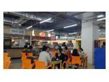Disewakan Kios food court (yang kosong) di Sopo del kuningan office tower & Life Style yang baru bangun