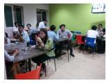 Kios FoodCourt Kedai Kantin Makanan PujaSera lokasi Ramai Furniture BRAND NEW berlokasi di Thamrin Menteng JakPus (Tempat Terbatas)