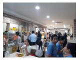 Kios Food Court Kantin Makanan Puja Sera MURAH MERIAH lokasi Ramai+Nyaman.NEW&CLEAN