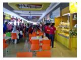 Food court plaza baru juga di lantai dasar