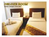 deluxe room hotel sunrise ada single bed and twin bed