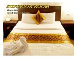 superior hotel sunrise dengan single bed