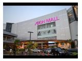 Di kontrak kan toko seluas 1 are di AEON Mall BSD